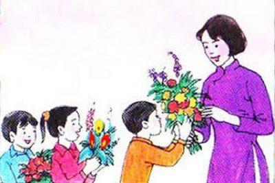 Nhớ ơn Thầy Cô, mừng ngày nhà giáo Việt Nam